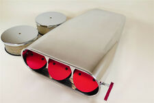 Bug Catcher Style Air Scoop Pro Street Series Single or Dual Carbs PLAIN Top