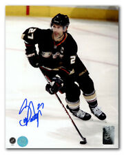 Scott Niedermayer Anaheim Ducks Autographed Hockey Captain 16x20 Photo