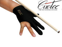 Black Cuetec Pool Cue Right Hand Glove