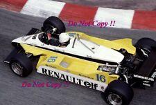 Rene Arnoux Renault RE30B Monaco Grand Prix 1982 Photograph 2