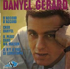DANYEL GERARD D'ACCORD D'ACCORD FRENCH ORIG EP MICHEL COLOMBIER