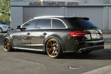 Rear Boot Trunk RS4 Style toit prolongation Spoiler Aile Pour AUDI A4 B8 Allroad