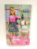 New Mattel Barbie You Can Be Anything Science Teacher Doll and Accessories