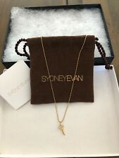 Sydney Evan 14k Yellow Gold with White Diamond Key Pendant Necklace