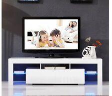 LED TV Schrank Lowboard TV Regal Möbel Fernseher Fernsehtisch Sideboard Eiche DE