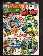 World's Finest #161 Giant ~ Superman / Batman /  ~1966 (6.0) WH