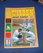 WISDEN CRICKET MONTHLY JANUARY 1996 - THE GREAT ESCAPE/ENGLAND IN SOUTH AFRICA