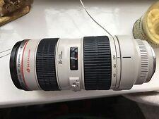 CANON EF 70-200mm 1:2.8 L USM LENS - 70-200 mm f/2.8L