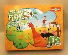 Jeu de société pour enfants 3+ : Ma première ferme Bioviva - pièces en bois