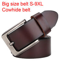 "Fashion Belt for Jeans Top quality Mens Belt 100% Genuine Leather Belt 28""-65"""