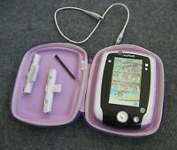 LeapFrog Purple LeapPad 2 System Tablet Tested with Stylus Case Leap Pad NICE