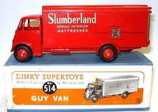 DINKY NO. 514 GUY SLUMBERLAND TRUCK - RARE MINT BOXED