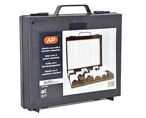 AP Slide Attache/Briefcase with 6x Din Slde Magazines
