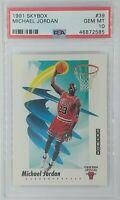 1991-92 Skybox Michael Jordan #39, Chicago Bulls, HOF, Graded PSA 10 Gem Mint
