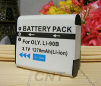 LI-90B,LI-92B Li-ion Battery For Olympus Tough TG-6 TG-5,TG-Tracker SH-1 SH-2