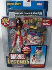 MARVEL LEGENDS SPIDER WOMAN MODOCK SERIES TOYBIZ ACTION FIGURE!
