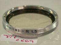 Orig Rollei Rolleiflex Sky Skylight Filter Lens Bajonett Bayonet B-II 2869/9