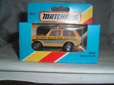 Matchbox MB20 Range Rover Securite RALLYE PARIS DAKAR 1983 en su caja ver fotos