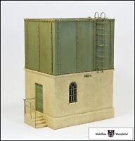 Wasserturm mit offenem Behälter (Fertigmodell) - Spur 1