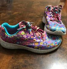 Skechers Girls Size 3(22cm) Emoji Athletic Shoes Multicolor