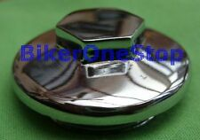 WW61222 - OIL TANK CAP For AJS & Matchless Motorcycle Chromed NEW