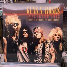 UNPLUGGED 1993  by GUNS N' ROSES  Vinyl Double lp limited clear vinyl