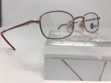 Modern Cable Rose/Red Flex Hinge Demo Lens Eyeglasses 42-20-130 T315