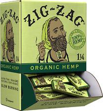 Zig-Zag 1 1/4 Organic Hemp Papers Promo Display (48 booklets)