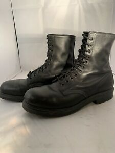 """Red Wing Men's Black Leather Steel Toe Supersole 8"""" Boot US Size 12 B"""