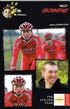 CYCLISME carte cycliste NICO SIJMENS équipe COFIDIS 2009