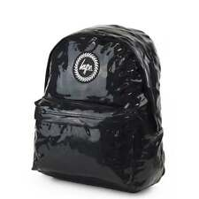HYPE Holographic Backpack Black Schoolbag BTS18131