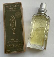 L'Occitane Verbena (Verveine) Eau de Toilette Boxed 20ml