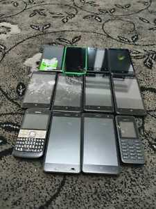 Job lot of 12 devices: Nokia Mix Joblot Bulk Faulty 035