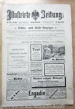 Illustrirte Zeitung vom 28.4.1898-mit Doppeljubiläum König Albert von Sachsen