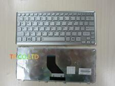 Original New US silver keyboard for Toshiba Satellite T210 T210D T215 T215D