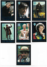 Doctor Who Series 4 Complete 7 Simulated Signature Foil Card Set Cornerstone 96