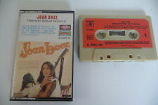 JOAN BAEZ FEATURING BILL WOOD AND TED ALEVIZOS. K7 AUDIO TAPE CASSETTE. FRENCH.