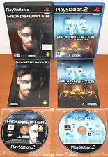 Headhunter Collection (1 & Redemption) SEGA, PlayStation 2 PS2 PStwo, Pal-España