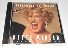 BETTE MIDLER - EXPERIENCE THE DIVINE : GREATEST HITS - 1993 UK 14 TRACK CD ALBUM