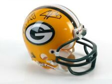 Green Bay Packers Mini Helmet Signed By Johnnie Gray, Ahman Green, & Jake Ryan