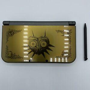 Nintendo 3DS LL Legend Zelda Majora's Mask Edition Black/Gold Japanese Version