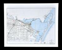 1856 TEXAS MAP TX MORRIS MOTLEY NACOQDOCHES NAVARRO NEWTON NOLAN NUECES COUNTY
