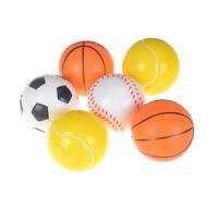 10cm Stress Sport Ball Sponge Ball Foam Ball Basketball Football Soccer、Baseb_AU