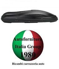 BOX BAULE PORTATUTTO PORTABAGAGLI TETTO AUTO G3 MOD. REEF 580