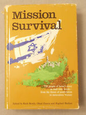 1968 MISSION SURVIVAL by Ruth Bondy SIX DAY WAR Miraculous Victory ISARAEL
