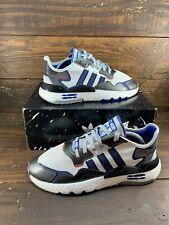 Adidas Originals Nite Jogger STAR WARS R2D2 White Blue Mens Shoes FV8040- NEW