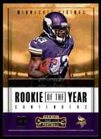 2017 PANINI CONTENDERS ROOKIE OF THE YEAR DALVIN COOK RC VIKINGS #RY-6 INSERT