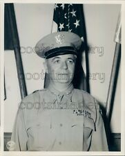 US Army Major General John Coulter of Texas in Uniform Press Photo