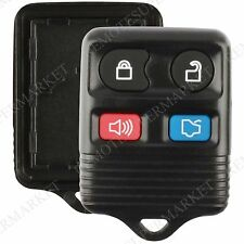 Replacement for Lincoln 2003-2005 Aviator 2000-2006 LS Remote Key Fob Shell Case