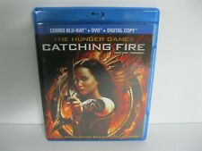 The Hunger Games Catching Fire bluray movie